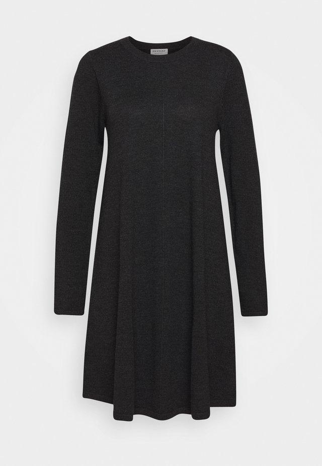 DRESS - Strikkjoler - dark grey
