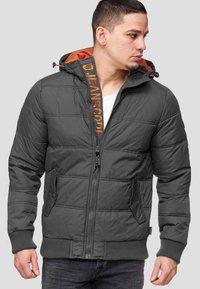 INDICODE JEANS - ADRIAN - Winter jacket - raven - 0