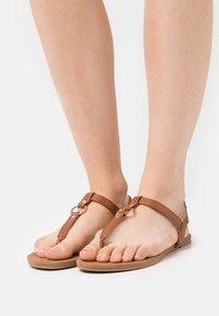 Anna Field - T-bar sandals - cognac - 0