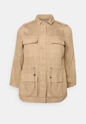 CARKENYA LIFE UTILITY JACKET - Summer jacket - khaki