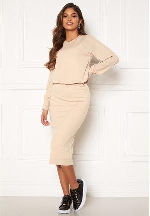 STELLA  - Jersey dress - beige