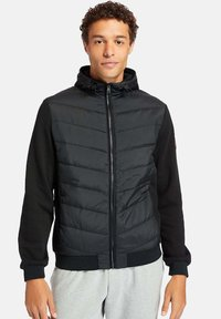 Timberland - MOUNT CABOT HYBRID - Zip-up hoodie - black - 0