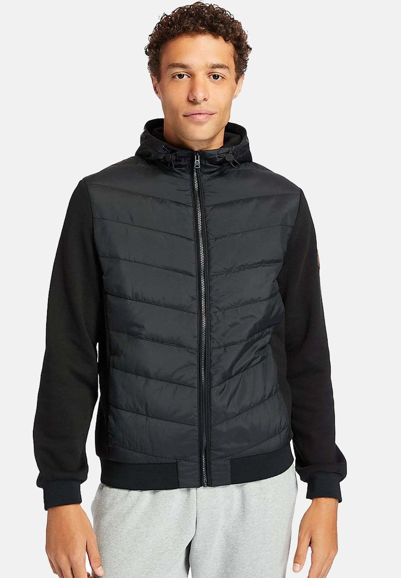 Timberland - MOUNT CABOT HYBRID - Zip-up hoodie - black