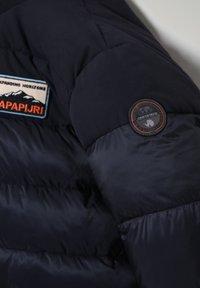 Napapijri - ATERBLU  - Winter jacket - blu marine - 3