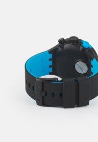 Swatch - RACING POWER - Chronograph watch - black/blue - 1
