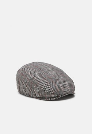 CHECK FLAT - Hat - mid grey