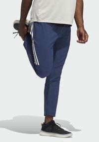 adidas Originals - AEROREADY STRIPES - Tracksuit bottoms - blue - 2