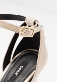 ONLY SHOES - High heeled sandals - beige - 2