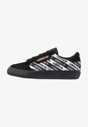 CONTINENTAL VULC - Matalavartiset tennarit - core black/semi coral