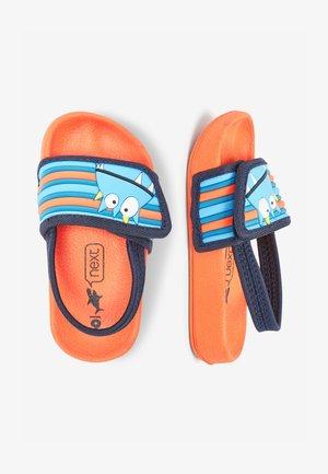 Pool slides - orange