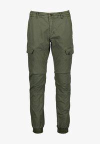 Garcia - Cargo trousers - deep army - 3