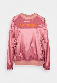 Under Armour - RECOVER SHINE CREW - Sweatshirt - stardust pink - 4