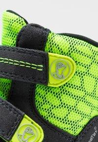 Lurchi - KEKO SYMPATEX  - Winter boots - atlantic/neon yellow - 5
