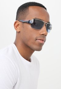 Prada Linea Rossa - Sunglasses - silver - 1