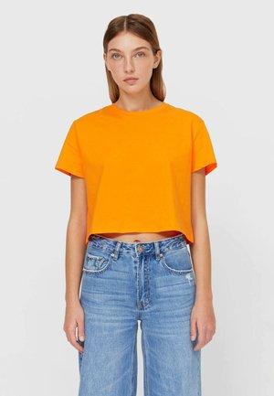 MIT KURZEN ÄRMELN - T-shirt basic - orange