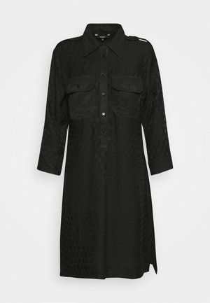 TRIESTRE - Shirt dress - black
