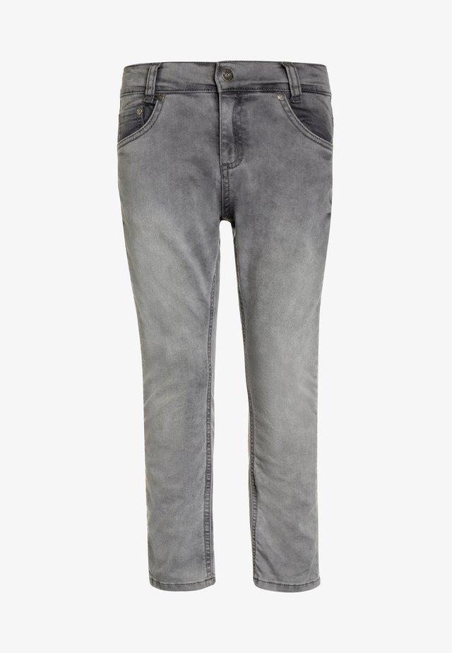 Straight leg jeans - light grey