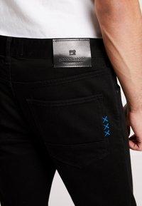 Scotch & Soda - SKIM - Slim fit jeans - stay black - 3