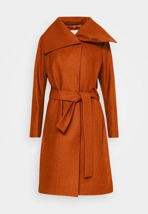 ZELENA COAT - Klasický kabát - rust