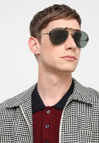 Prada - Sunglasses - medium havana/pale gold/light green - 1