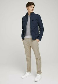 TOM TAILOR - BIKER - Light jacket - sky captain blue - 1