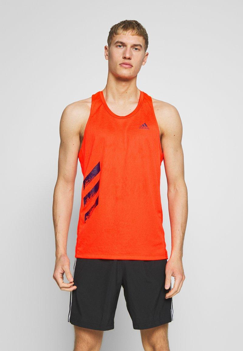 adidas Performance - SINGLET - Camiseta de deporte - solred