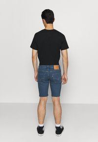 Levi's® - SLIM SHORT - Denim shorts - dark-blue denim - 2