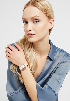 RUE DENOYEZ - Hodinky - silver-coloured/rose gold-coloured