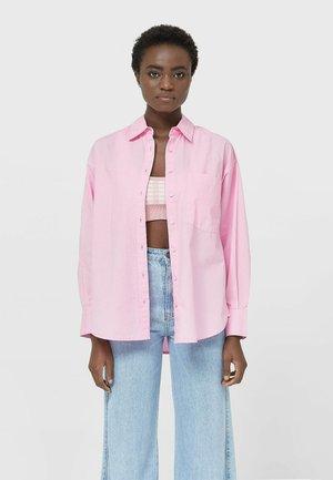 Koszula - mottled pink
