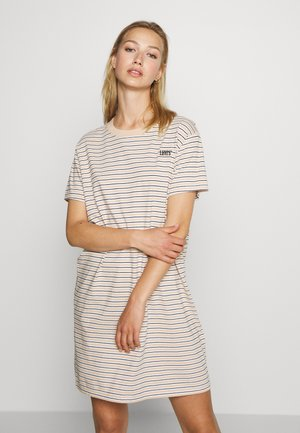 LULA TEE DRESS - Jerseykjole - caviar/moonstone
