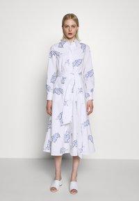 IVY & OAK - MIDI DRESS - Korte jurk - bright white - 0