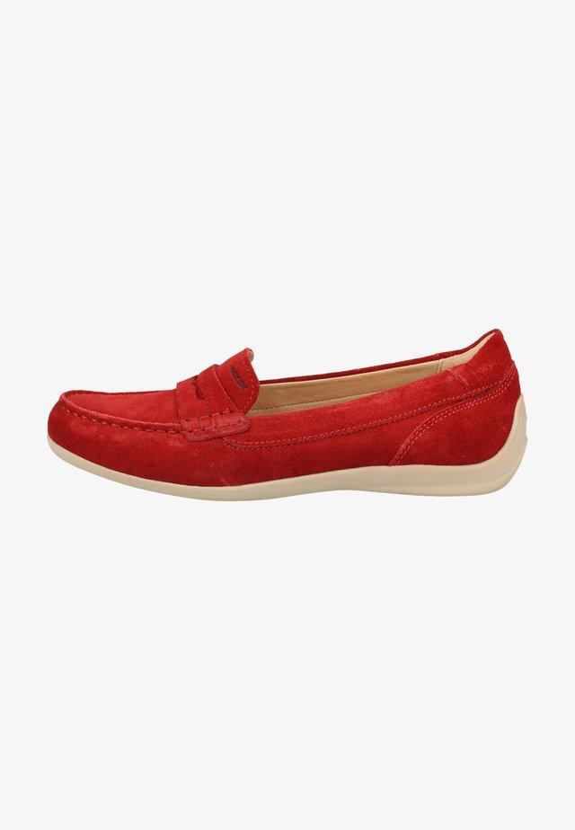 Loaferit/pistokkaat - red