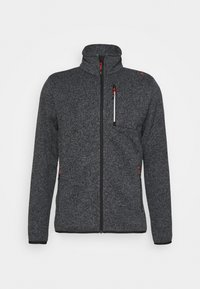 CMP - MAN JACKET - Fleecová bunda - grey/antracite/nero - 4