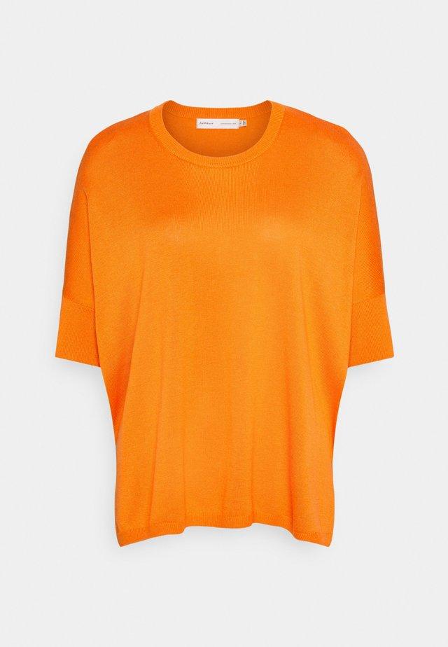 DERBYIW PULLOVER - Jersey de punto - vibrant orange