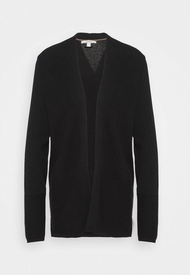 CORE CARDI - Vest - black