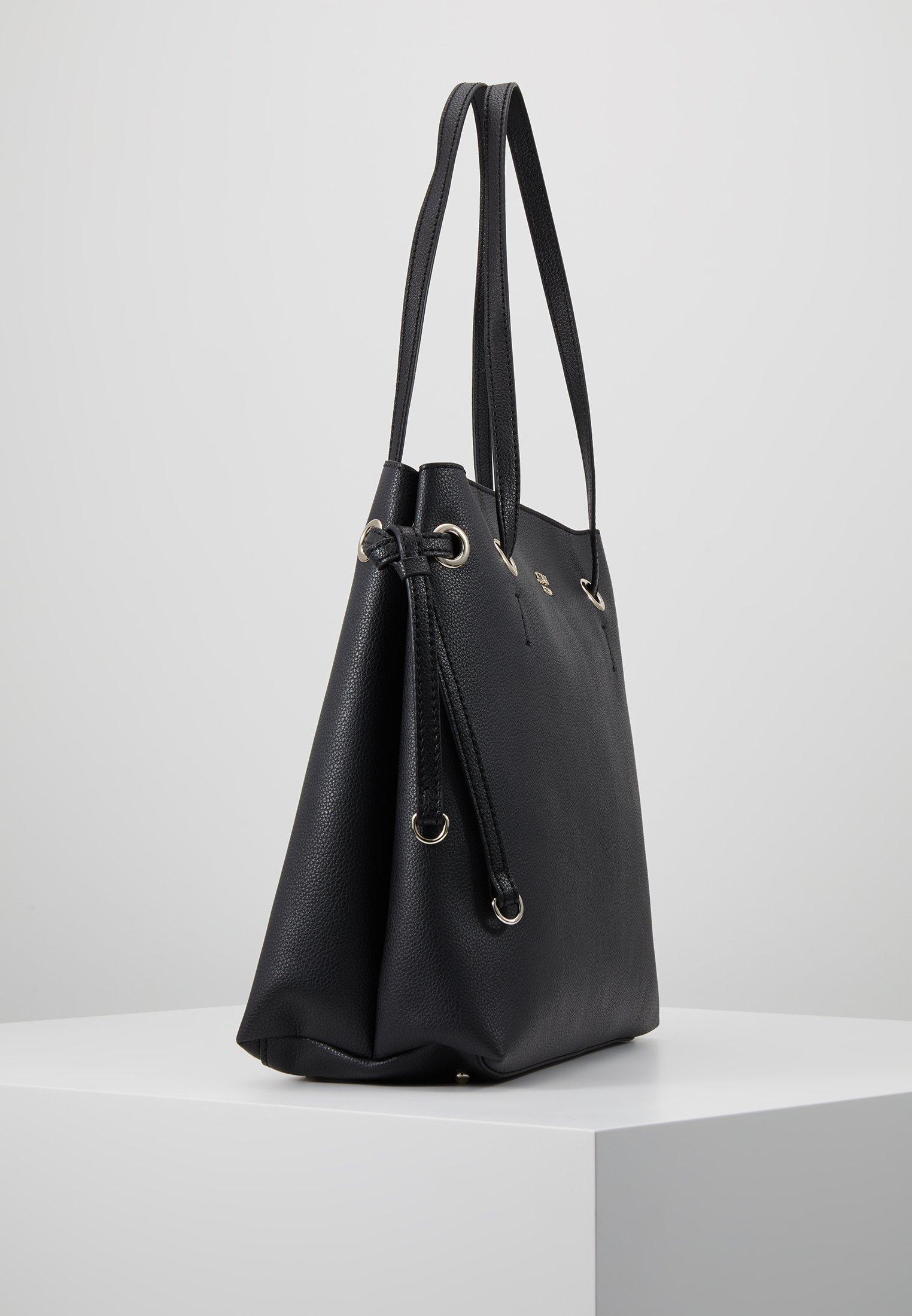 Guess DIGITAL SHOPPER - Shoppingveske - black/svart g9UhFHNdh8PyGMu