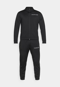 Calvin Klein Performance - TRACKSUIT - Tracksuit - black/bright white - 10