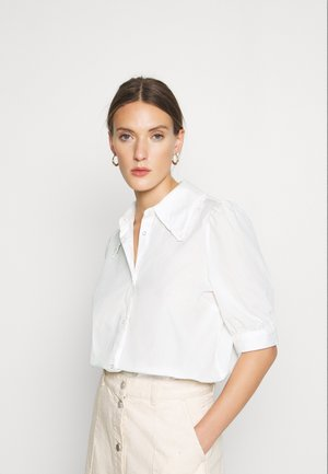 TILLE - Button-down blouse - off white
