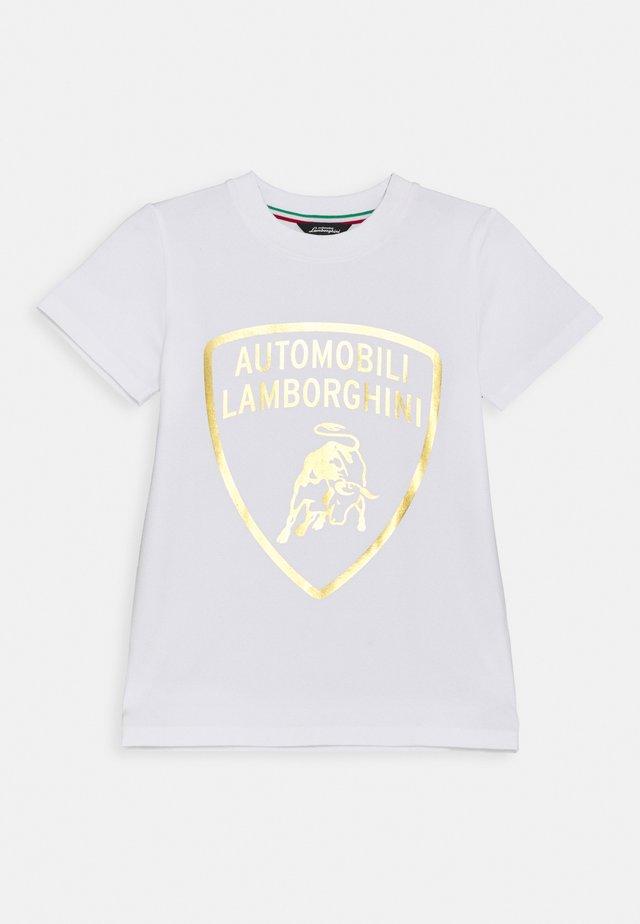 SHIELD - Print T-shirt - white