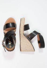 Divine Factory - Korolliset sandaalit - noir - 2