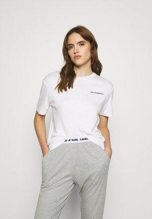 LOGO - Pyjama top - white