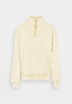 MOSBY SCRIPT HIGHNECK - Sweatshirt - dusty brown