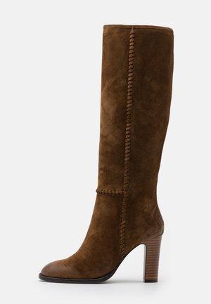 High Heel Stiefel - corteccia
