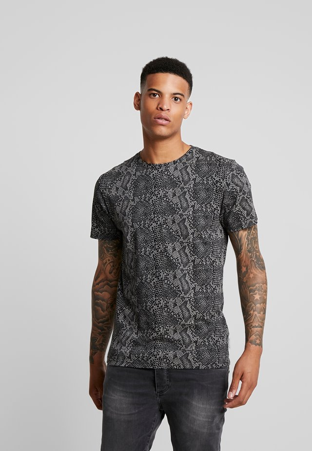 SNAKESKIN - Camiseta estampada - grey