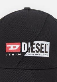 Diesel - CAP-CUTY UNISEX - Casquette - black - 3