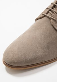 Zign - LEATHER  - Smart lace-ups - taupe - 5