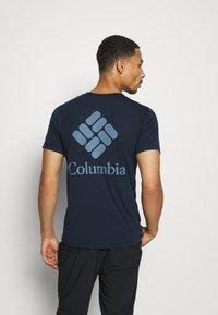 Columbia - MAXTRAIL LOGO TEE - Print T-shirt - collegiate navy - 2