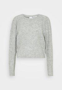 ONLTOKYO PLEATS - Jumper - light grey melange