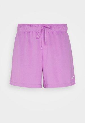 SHORT PLUS - Pantalón corto de deporte - violet shock/white