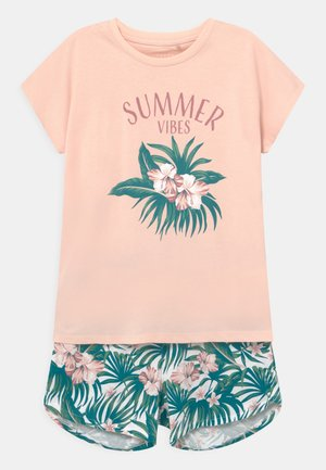 NKFVIGEA SET  - Print T-shirt - peach whip